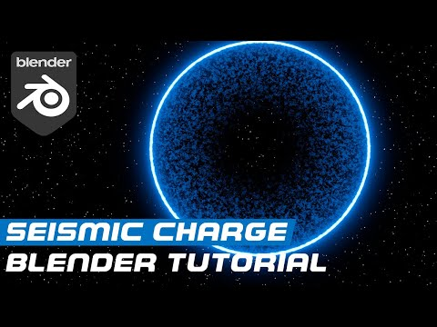 Creating a Seismic Charge Explosion in Blender!
