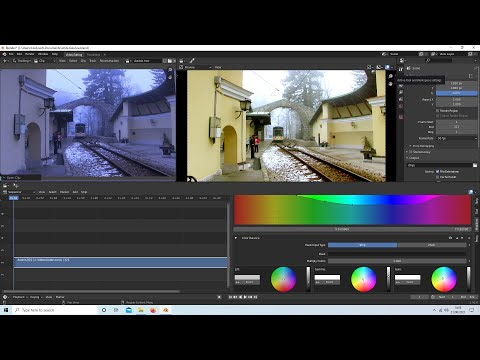 Blender 2.92 Tutorial: Basic Video Color Grading. Color Correction.