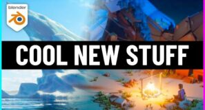 Cool New Tools, Updates and Courses for Blender!