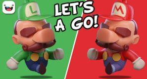 3D Sculpting Mario and Luigi