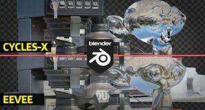 Eevee Vs Cycles X | Blender 3.0 | Cycles Is FAST now.