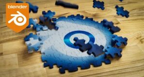 Blender Tutorial – Jigsaw Puzzle Building Animation