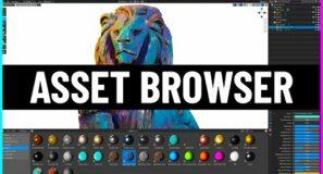 Blender's Amazing Upcoming Asset Browser!
