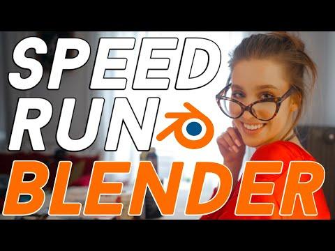 Speedrun Blender