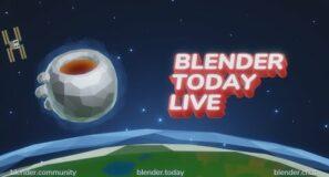 CURVE PRIMITIVES | Blender.Today LIVE #159