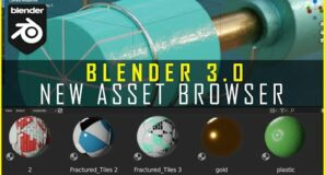 NEW Asset Browser Is Awesome | Blender 3.0