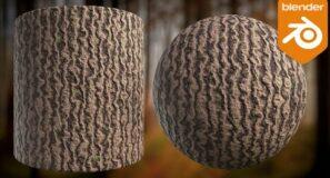 Procedural Tree Bark Material (Blender Tutorial)