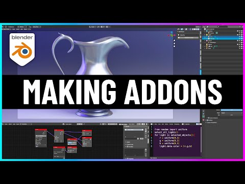 The Easiest Way to Make Addons for Blender! (Serpens + EasyBPY)