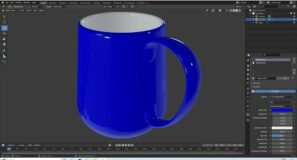 Blender Beginners Tutorial: How To Make A Simple Tapered 3d Mug With A Curved Base.