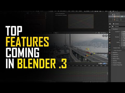 top amazing features coming to blender 3
