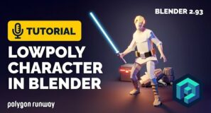 Low Poly Character Rigging Tutorial in Blender 2.93