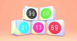 Blender: material with switchable numbers