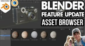 Blender ASSET BROWSER UPDATE – What's Going on with the Asset Browser?