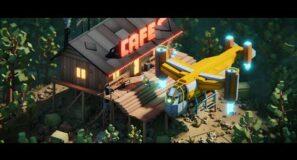 "Low Poly Animation ""Coffee Break"" (Blender)"