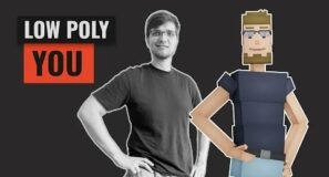 Turn Yourself into Low Poly 3D Art (Blender)