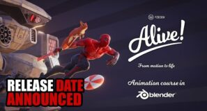 Alive! Blender 3D biggest animation course announcement