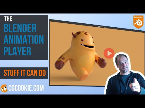 Blender Animation Player: 8 Things you didn't know about (The Secret Stuff)