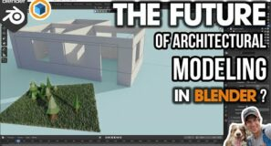 The FUTURE of Architectural Modeling in Blender? Exploring the BagaPie Add-On!