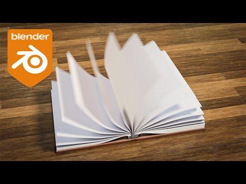 Blender Tutorial – Book Opening Animation