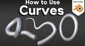 How to Use Curves in Blender (Tutorial)