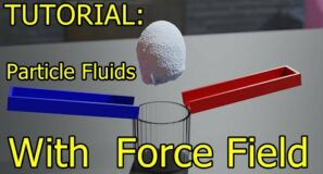 Tutorial – Particle Sim With Force Field – Blender