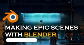 recreating an epic mega scans scene in blender
