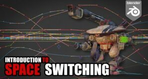 Advanced animation techniques – Space switching fundamentals in Blender