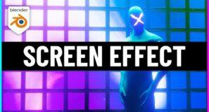 Create a Beautiful Screen Effect in Blender!