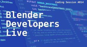 Blender Developers Live: Cycles-X – going BIG tile