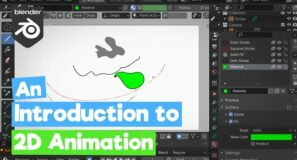Blender Tutorial : Introduction to 2D Animation / Grease Pencil