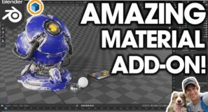 AMAZING Custom Materials in Blender (Add Scratches, Grunge, and MUCH MORE!)