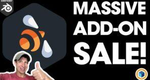 MASSIVE Blender Add-On Sale! (Closes Monday Night)