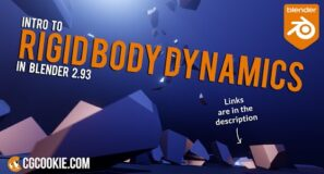 How to use Rigid Body Dynamics in Blender (Make your own explosion)