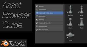 [3.0] Blender Tutorial: How to Use the Asset Browser