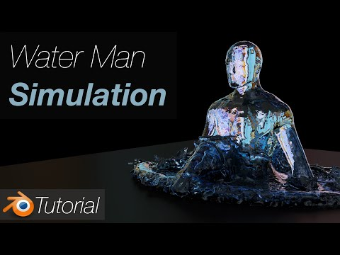 [2.93] Blender Tutorial: Quick Water Simulation With Mantaflow (free)