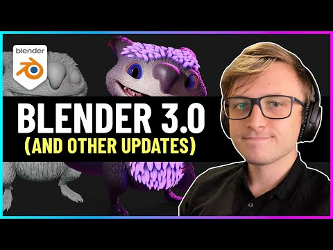 Blender 3.0 Release Date! (And Other Cool Updates)