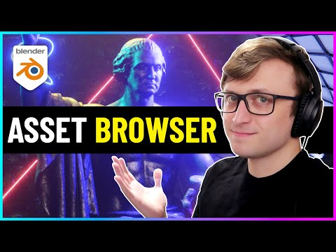 Blender's New Asset Browser is a LIFE SAVER!