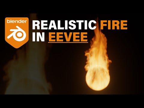 Blender Tutorial – Rendering Realistic Fire in EEVEE