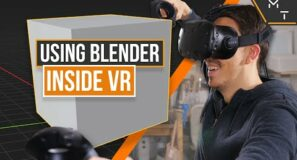 Using Blender In VR Is Awesome | My Virtual Reality 3D Modelling Workflow.