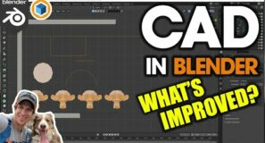 CAD Modeling in Blender just got EVEN BETTER!