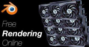 Free Online Rendering for Blender *NEW METHOD*