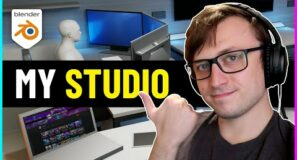 I Designed My Future Studio in Blender!
