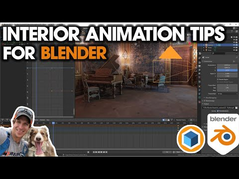 Tips for Creating WALKTHROUGH ANIMATIONS in Blender