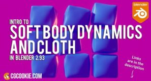 Intro to Cloth Sims & Softbody Dynamics In Blender 2.93! (2021)