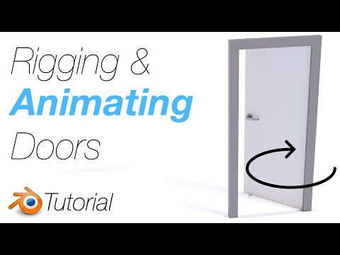 [2.93] Blender Tutorial: Adding, Rigging, And Animating Doors