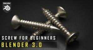 Blender   Screws Are EASY Now   Beginners Tutorial