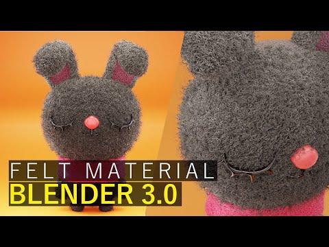Easy Felt Material   Blender 3.0